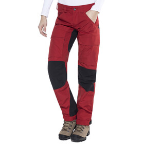 Lundhags Authentic - Pantalones de Trekking Mujer - Regular rojo